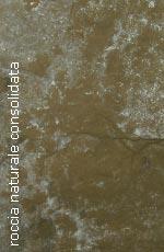 Esempio di materiale: roccia naturale consolidata