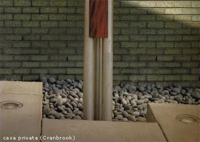 Esempio di pavimentazione e materiali: casa privata (Cranbrook)