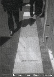 Esempio di pavimentazione e materiali: Borough High Street (Londra)