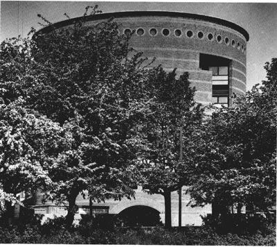 Una immagine dell'edificio