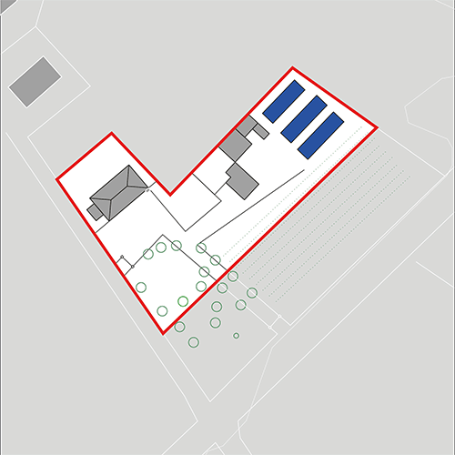 Planimetria dell'area