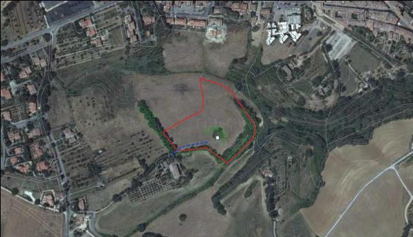 Foto aerea dell'area